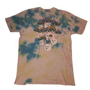 RIPNDIP Boomer Gang Mushroom Tie Dye T-Shirt